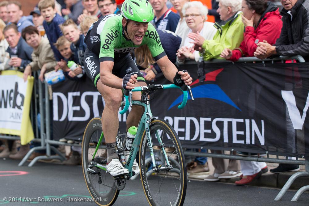 Held van NK Wielrennen 2014: Maarten Tjallingii